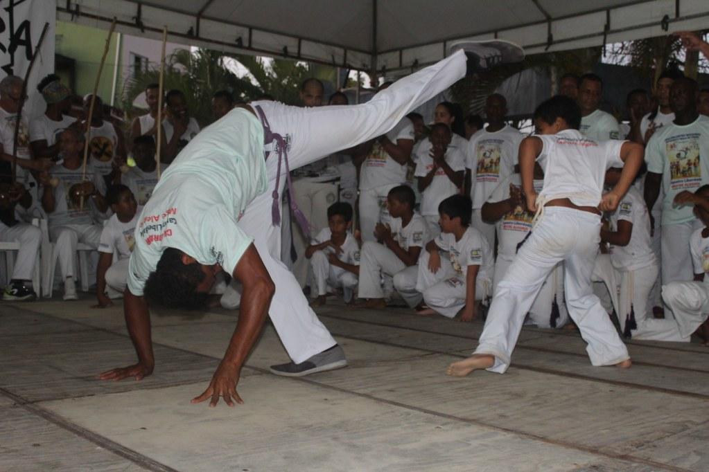 Batizado e troca de cordas XXVI Encontro Nacional de capoeiristas em Alcobaça (23)