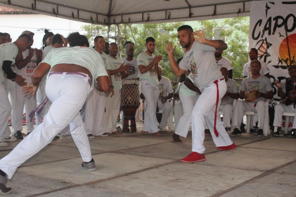 Batizado e troca de cordas XXVI Encontro Nacional de capoeiristas em Alcobaça (1)