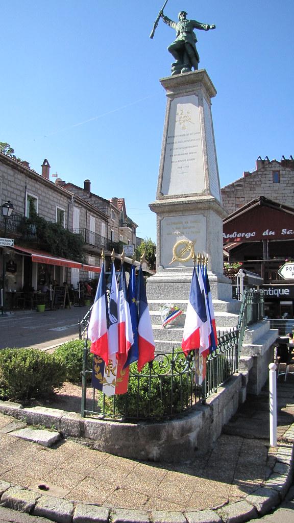 Monument aux Morts 1914-18 Zonza