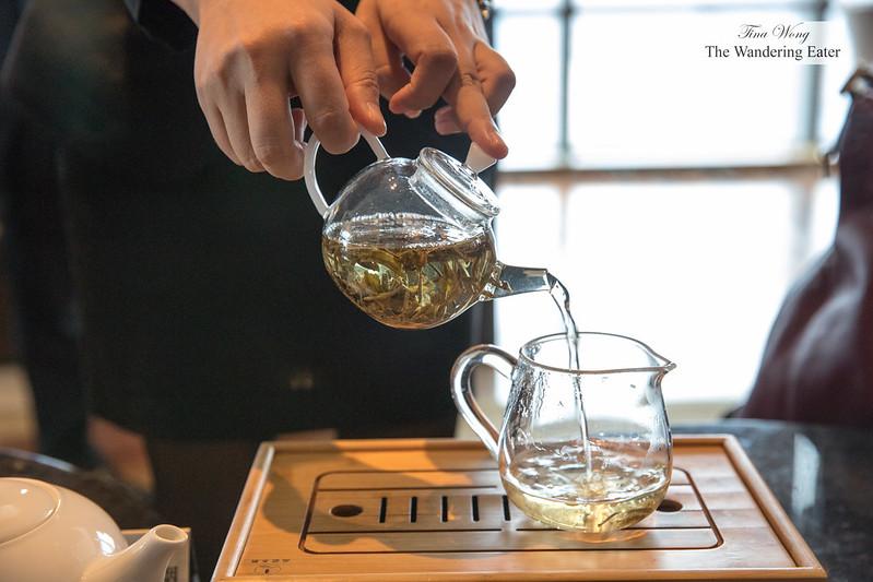 Superb jasmine tea from Chengdu