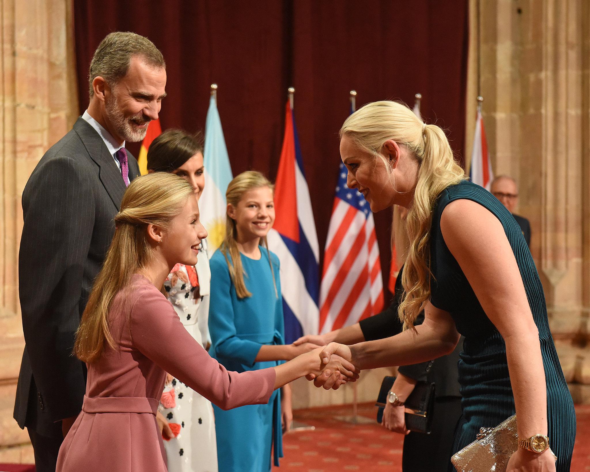 Recepción de la Princesa de Asturias a los galardonados. Foto: FPA Iván Martínez