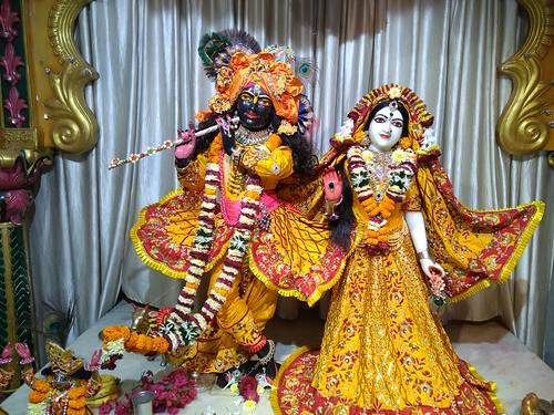 ISKCON Amravati Deity Darshan 06 Nov 2019