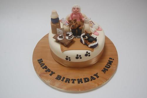 Prime Chihuahua Armchair Cake Beautiful Birthday Cakes Funny Birthday Cards Online Unhofree Goldxyz