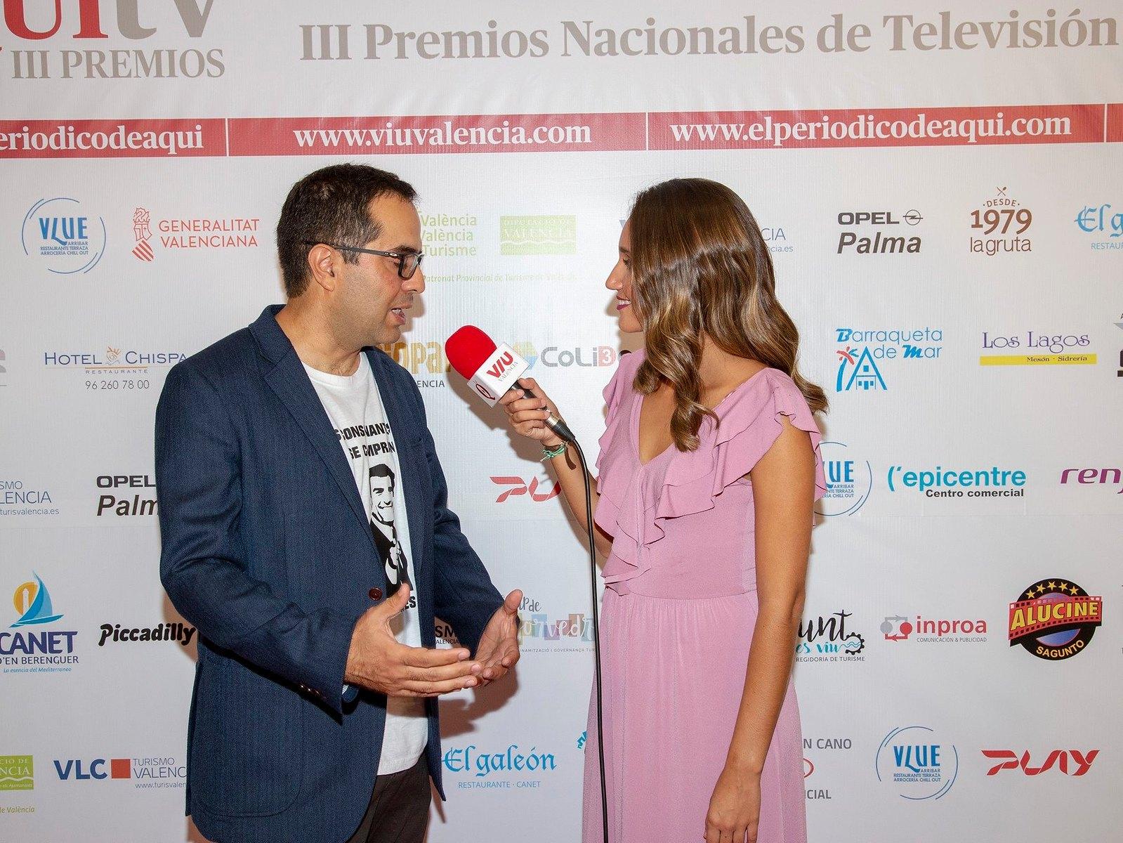 Nacho Correa director de La Ruleta de la Suerte