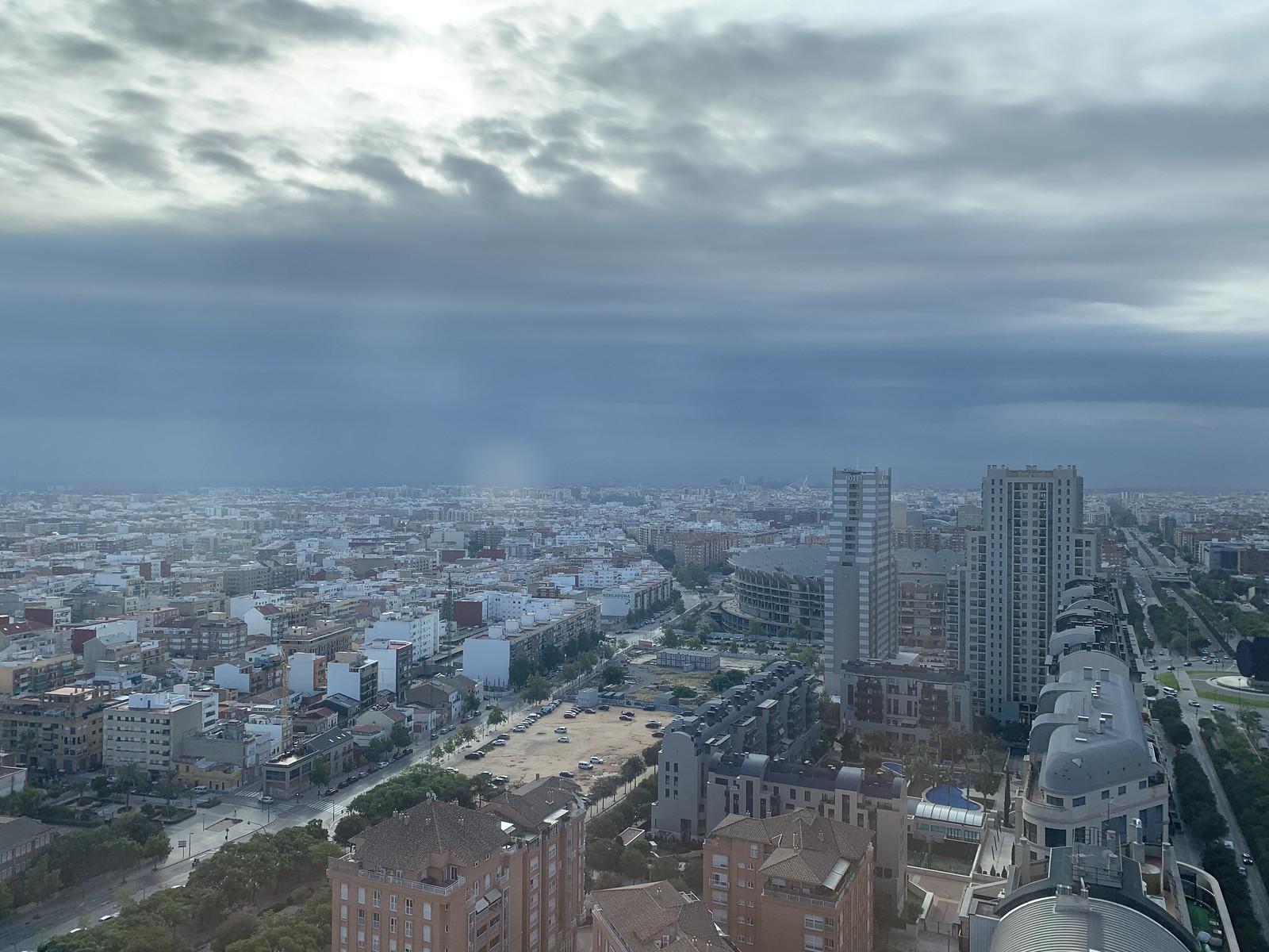 Cielo de Valencia