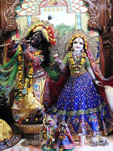 ISKCON New Mayapur Deity Darshan 05 Nov 2019