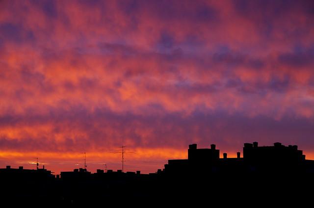 Amanecer en Huesca