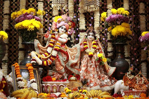 ISKCON Punjabi Bagh Deity Darshan 06 Nov 2019