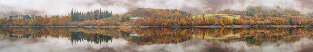 Dale Head, Thirlmere. Full width pano