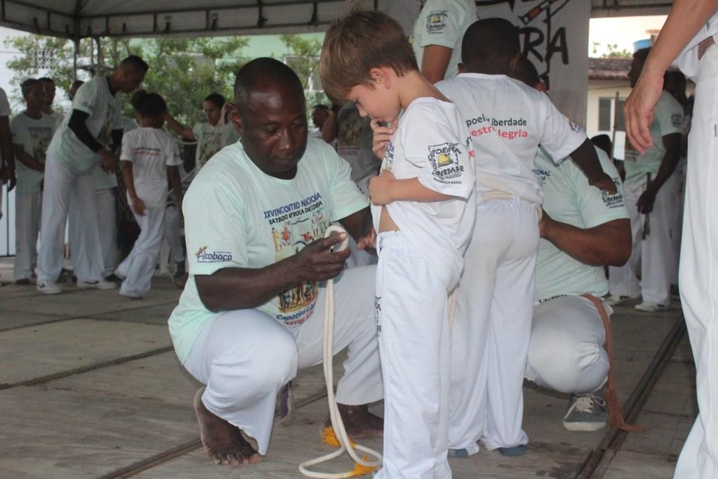 Batizado e troca de cordas XXVI Encontro Nacional de capoeiristas em Alcobaça (20)