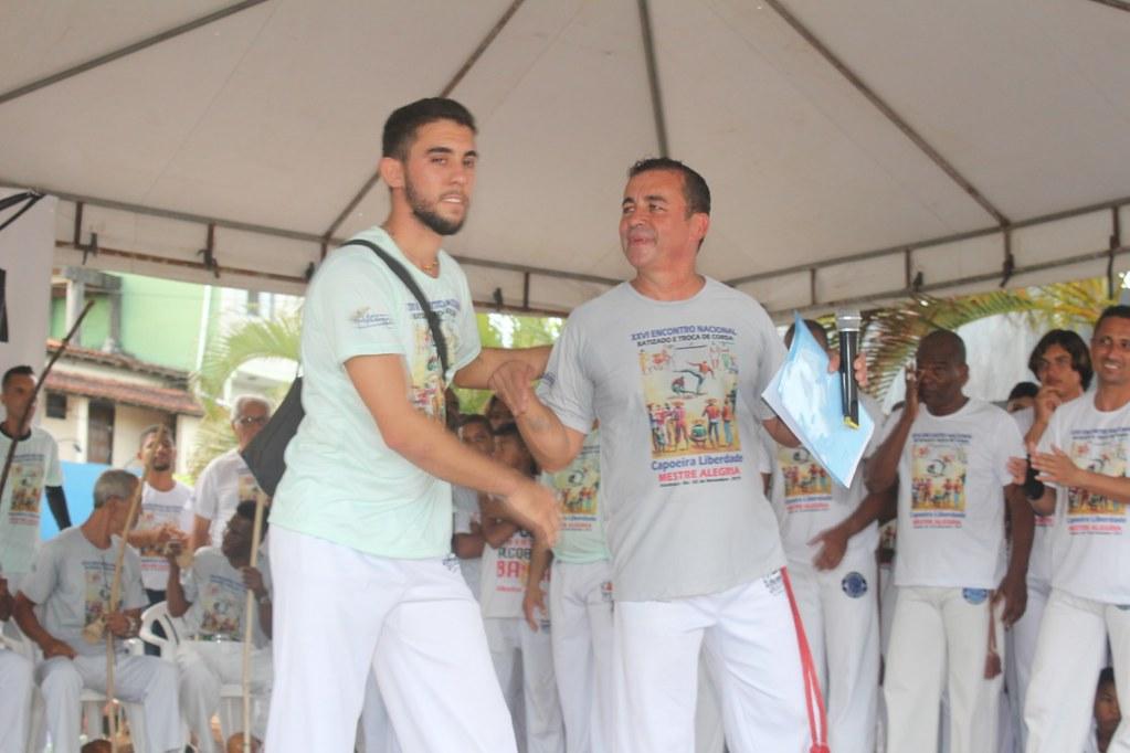 Batizado e troca de cordas XXVI Encontro Nacional de capoeiristas em Alcobaça (3)