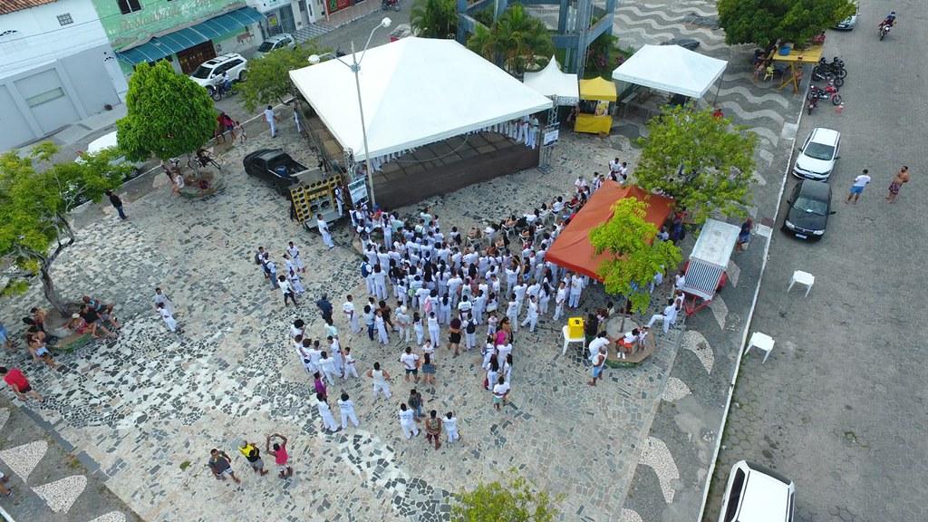 Batizado e troca de cordas XXVI Encontro Nacional de capoeiristas em Alcobaça (2)