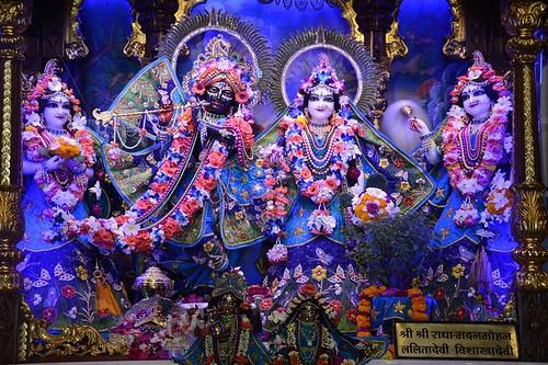 ISKCON Ujjain Deity Darshan 06 Nov 2019
