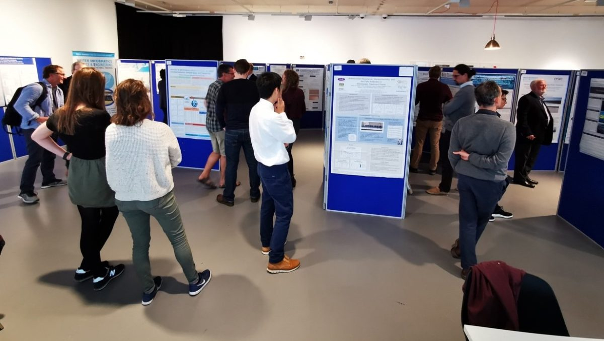 Our event attracted research students and staff from across the University.
