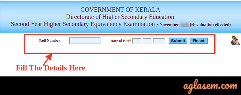 Kerala HSE Equivalency Result Dec 2019