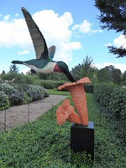Lisle, IL, Morton Arboretum, Lego Ruby-Throated Hummingbird