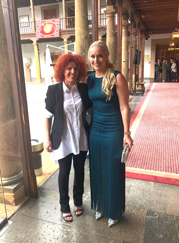 Rocío y Lindsey