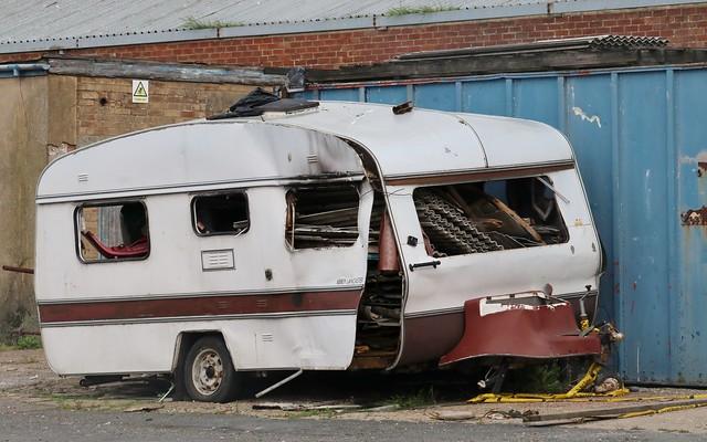 Abbey Lancaster caravan