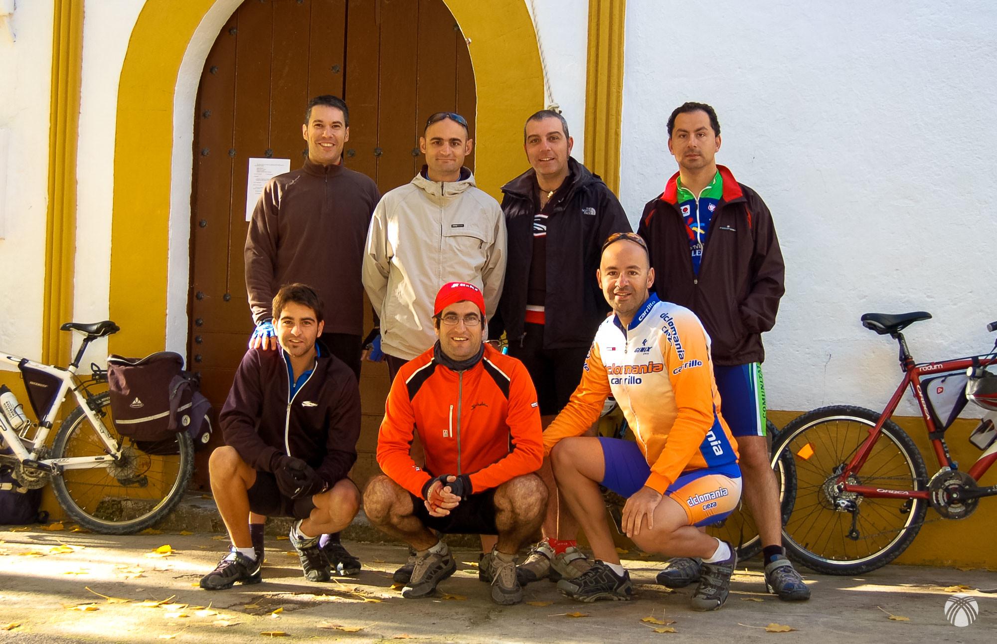 En la ermita de Río Madera
