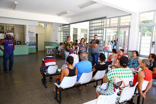 Visita técnica para verificar as condições de operação do Centro de Saúde Nazaré - Comissão de Saúde e Saneamento