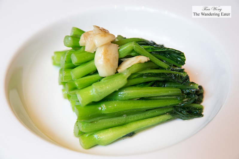 Sauteed Cantonese-style Choy Sum (菜心)