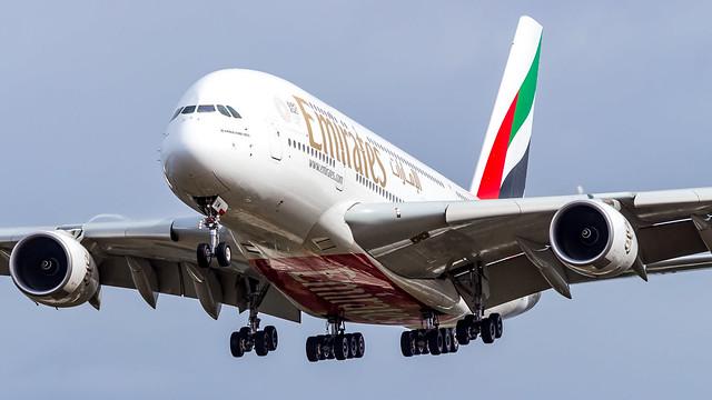 Airbus A380-842 A6-EUM Emirates