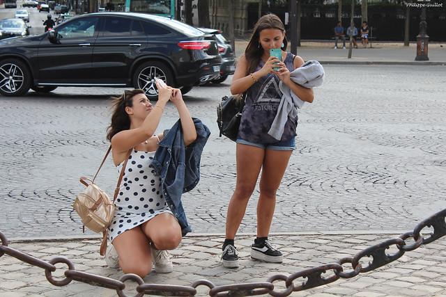 Photographes en action