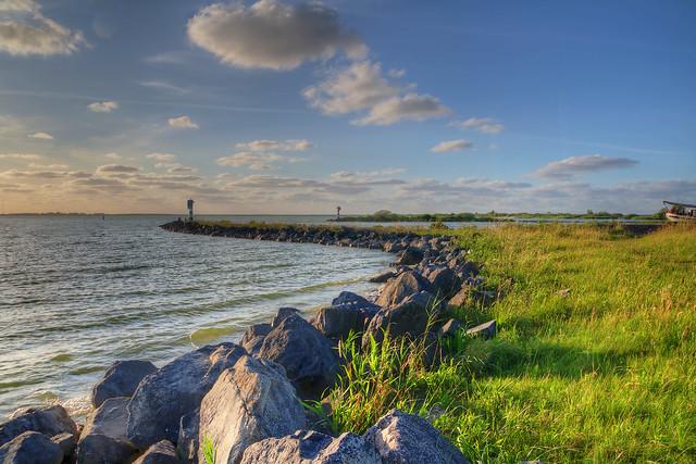 Hafeneinfahrt Makkum Ijsselmeer