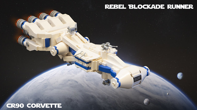 SW Microfighters: Rebel Blockade Runner