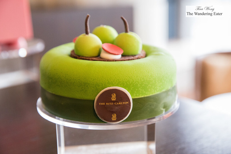 Green apple cake