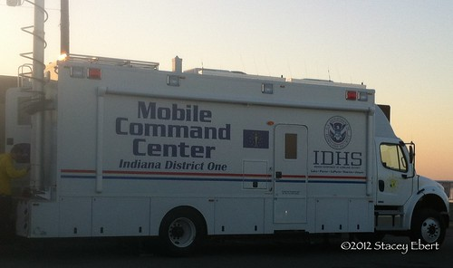 Indiana Homeland Security Mobile Command Center. From Through the eyes of an educator: Disasters, Deployment, and Development
