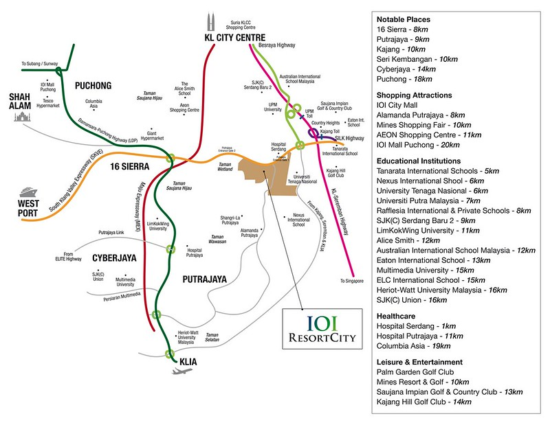ioi resort city map