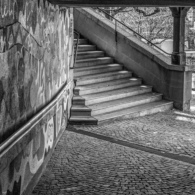 Escaliers du Marché, Lausanne