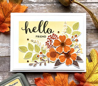 Fall Floral Hello