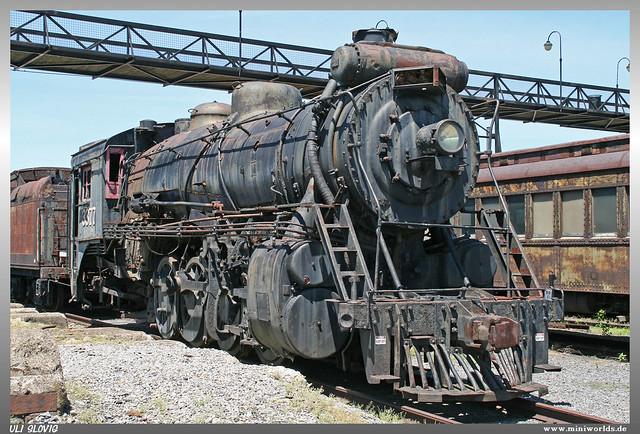 1919 Canadian Locomotive Company 2-8-2 No. 3377