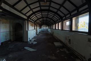 Abandoned Hospital in Paisley Scotland