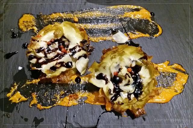 Artischocken frittiert mit Honig * Fried artichokes with honey * Alcachofas fritas con miel *              .  SAM20191105-002