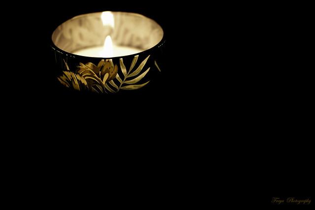 Light and dark...