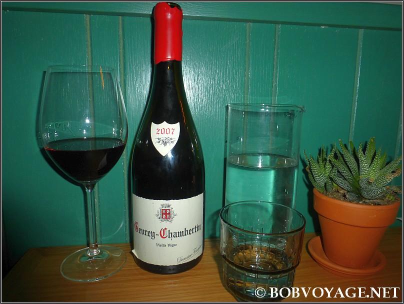 Domaine Fourrier Gevrey Chambertin VV 2007 ששתינו ב- שיינע (Sheine)