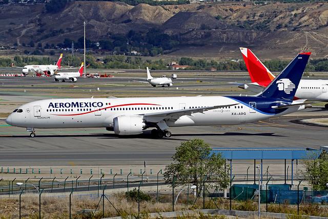 AeroMexico Boeing 787-958 XA-ADG