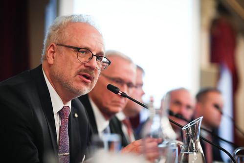 06.11.2019. Valsts prezidents Egils Levits tiekas ar Latvijas Pašvaldību savienības domes pārstāvjiem