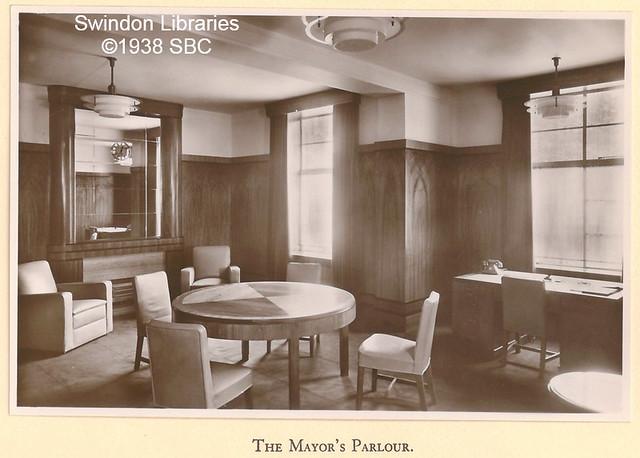 1938: The Mayor's Parlour, Swindon Civic Offices, Euclid Street