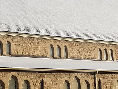 Snow on the church