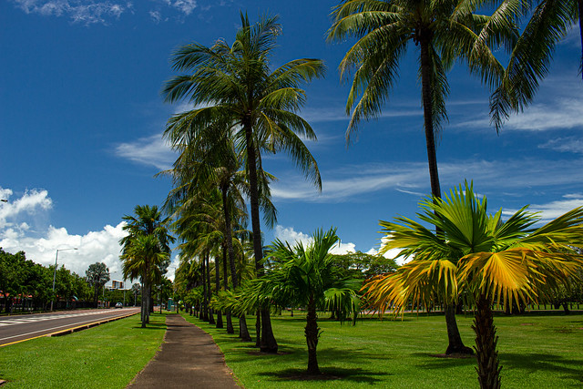 Bicycle Path, Mindil Beach Park