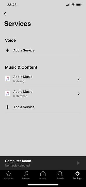 Sonos - Services