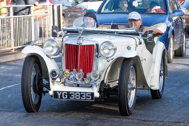 London to Brighton Veteran Car Run 2019 - 1949 MG TC (YG 3835)