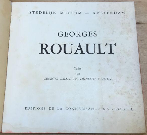 IMG_1819CatalogusStedelijkMuseumAmnsterdanGeorgesRouault1952GeorgesSallesLionelloVenturi