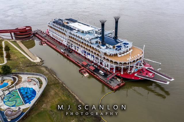 American Queen Riverboat | Mississippi River | Memphis, Tennessee