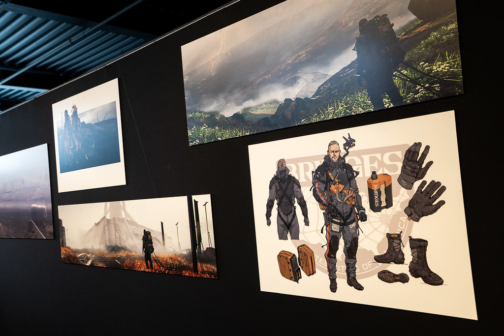 Fractured Worlds: Death Stranding Pop-Up Gallery