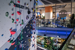 Climbing gym / Food court